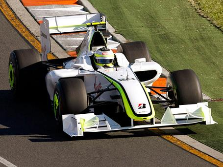 Rubens Barrichello em Melburne com a Brawn GP