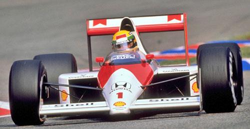 Mclaren-Honda MP4/5 de Ayrton Senna em 1989