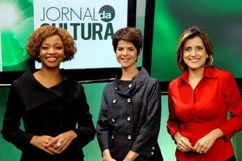 Com a apresentação de Adriana Couto, Michele Dufour e Laila Dawa e Jornal da Cultura vai ao ar de segunda a sábado, às 21h
