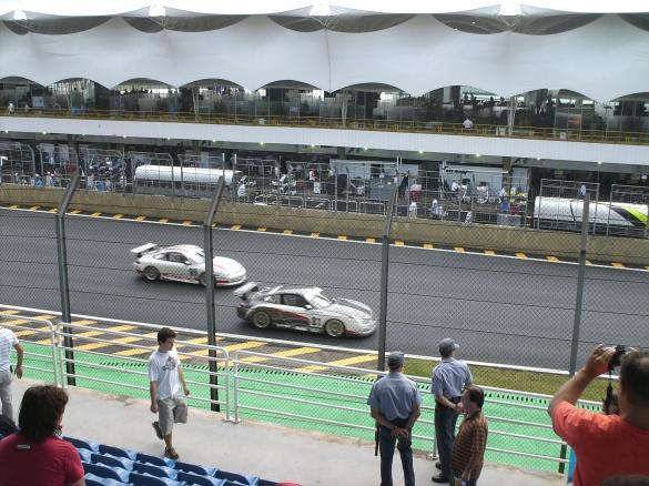 Copa Porsche foi o primeiro grande momento na pista